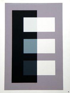 Josef Albers Interaction of Color Silkscreen   eBay