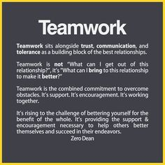 From acquaintances to best friends to married couples, all great friendships involve teamwork. Teamwork sits alongside trust, communication, and tolerance … Relationship Comic, Relationship Videos, Complicated Relationship, Workplace Quotes, Workplace Motivation, Team Building Quotes, Building Relationships Quotes, Work Relationships, Relationship Building