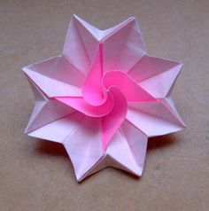 How To Make Origami Flowers, Simple