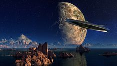 An UFO is neither a mystery nor the sole subject of science fiction anymore. A former head of a Pentagon program with an understanding of the mysteries of UFOs has said that the existence of such flying objects has been … Interstellar, Ufo, Transmutation, Les Religions, Landscape Photography Tips, 3d Home, Excursion, Deep Space, Space Travel