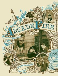 GigPosters.com - Arcade Fire, The - Scotland Yard Gospel Choir - Like Young, The