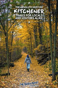 These Kitchener-Waterloo trails are not to be missed when in the area. Whether you're a local or just visiting, you'll love these Kitchener trails. Don't miss out on these Kitchener, Ontario natural gems and do some hiking! Quebec, Voyage Canada, Ontario Travel, Toronto, Canadian Travel, Canadian Rockies, Reserva Natural, Travel Guides, Travel Tips