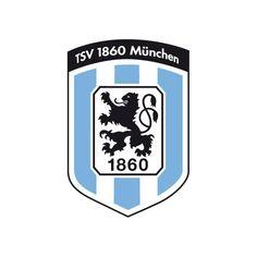 TSV 1860 Munchen Wallpaper | TSV 1860 escudo de armas como Wandtatto, 4 tamaños, pegatinas ...