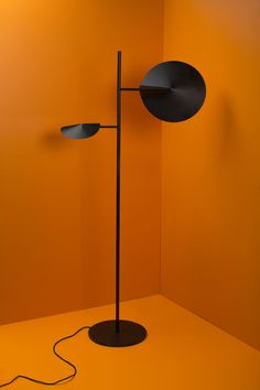 Ellipse 2016 Ellipse is a sculptural floor lamp. The shades are made from metal sheets which are folded as a triangle in one. Floor Lamp, Triangle, Objects, Shades, Sculpture, Flooring, Lighting, Elegant, Metal
