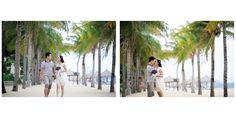 Những trang phục đời thường năng động, trẻ trung tạo nên những khoảnh khắc tự nhiên cho đôi bạn khi chụp ảnh cưới tại Nha Trang