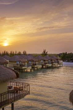 Romantic all-suite escape with butler-serviced villas, Mexico's first overwater bungalows, and a well-combed beach in the heart of the Riviera Maya