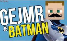 GEJMR JE BATMAN !!! Batman, Snapchat, Logos, Youtube, Instagram, A Logo, Youtubers, Legos