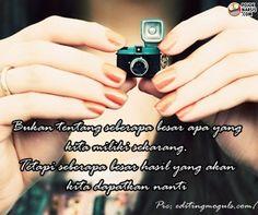 Awal yang kecil Quotes Indonesia