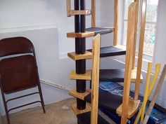 Spiral staircase parts