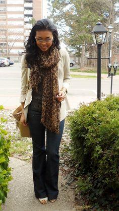 zara blazer, j brand jeans, aldo shoes, coach bag.  cheetah + leopard print mix.