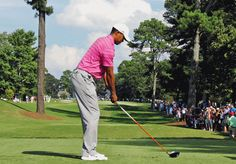 Tiger Woods 2012 Swing Sequence GIF