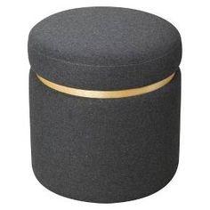 Storage Ottoman Grey - Room Essentials™ : Target