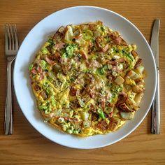 Whether it's mash to make colcannon or potato cakes, roast for dousing in gr. Baked Omelette, Leftover Potatoes, Potato Cakes, Brunch Recipes, I Foods, Roast, Breakfast, Breakfast Cafe, Potato Croquettes