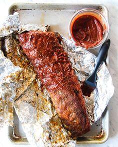 Super Bowl Sunday Recipe Roundup - The Defined Dish Rib Recipes, Whole 30 Recipes, Paleo Recipes, Clean Recipes, Rib Marinade, Bbq Sauce Ingredients, Rib Meat, Bbq Ribs, Paleo Whole 30