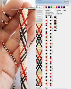 Crochet Bracelet Crochet Bracelet Learn the rudiments of how to needlework (generic term), starting Bead Crochet Patterns, Bead Crochet Rope, Beading Patterns, Diy Bracelets Patterns, Beaded Bracelet Patterns, Seed Bead Jewelry, Bead Jewellery, Gold Jewelry, Plunder Jewelry