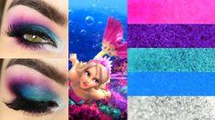 Tutorial – Makeup inspirada na Barbie Sereia com a Electric Palette