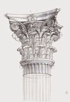 New Architecture Drawing. Newest Pics Architecture Drawing Sketches Strategies Sketchbook Architecture, Architecture Antique, Art Et Architecture, Art Sketchbook, Architecture Details, Classical Architecture, Historical Architecture, Pencil Drawings, Art Drawings