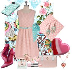 """""""candy colors"""" by armband ❤ liked on Polyvore"""