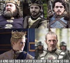 Tommen is next, I swear by the old gods and new. Balon Greyjoy died in season six if you count him.