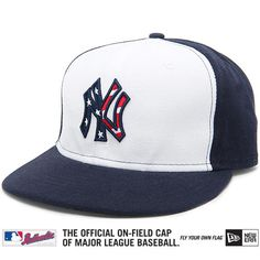 New York Yankees Authentic 2011 Stars & Stripes Performance 59FIFTY On-Field Cap - MLB.com Shop - Size 7 1/2