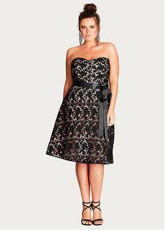 #Dressilyme - #Dressilyme Dressilyme Modest Lace Sweetheart Neckline Knee-length Plus Size A-line Prom Dresses With Belt - AdoreWe.com