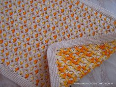 CROCHETANDO: TAPETES DE CROCHE EM BARBANTE - Tapete dupla face