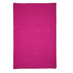 Charlton Home Glasgow Pink Indoor/Outdoor Area Rug Rug Size: Square 12'