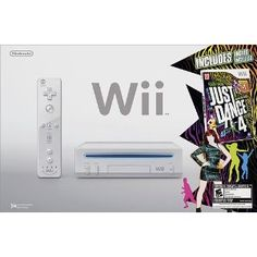 Nintendo Wii Just Dance 4 Bundle – White