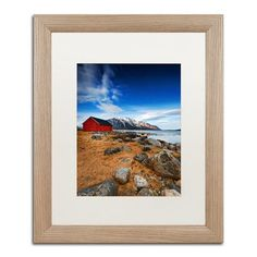 """Trademark Art """"Endure"""" by Philippe Sainte-Laudy Matted Framed Photographic Print Size:"""