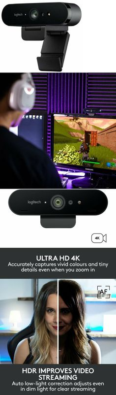 dc4ab17bf63 Webcams 4616: Logitech Brio 4K Stream Edition Webcam Best Streaming And  Gaming Webcam ->