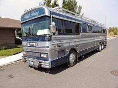 Used RVs 1986 Bluebird Wanderlodge For Sale by Owner Bluebird Buses, Motor Homes For Sale, Used Rv For Sale, Cool Rvs, Class A Rv, Detroit Diesel, Bus House, Used Rvs, Naruto And Hinata
