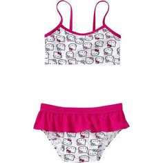 Old Navy Hello Kitty Bikinis For Baby ($20) ❤ liked on Polyvore