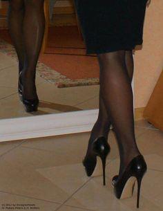 high heels – High Heels Daily Heels, stilettos and women's Shoes Hot Heels, Sexy Legs And Heels, Black High Heels, High Heels Stilettos, High Heel Boots, Stiletto Heels, Pantyhose Heels, Stockings Heels, Black Pantyhose