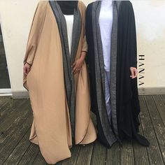 IG: Hanaacollection.co.uk || IG: Beautiifulinblack || Modern Abaya Fashion