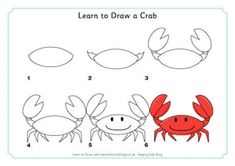 Learn to Draw a Crab