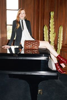 A spread from Louis Vuitton's spring 2015 campaign. [Courtesy Photo]