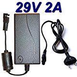 Adaptateur Secteur Alimentation Chargeur 29V 2A pour Canapé Chaise Fauteuil Literie Inclinable Relaxation Electrique