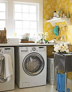 DIY ideas for upgrading your laundry room