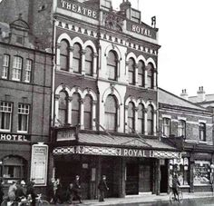 Theatre Royal(now the ABC cinema) Northgate 1937