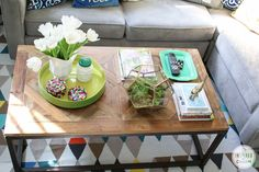 Coffee Table Styling | Inspired by Charm.
