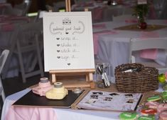 Rental items Tabletop easel: $10 Photo Signage: $8