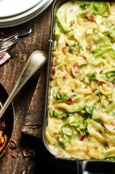 Spätzle aus dem Ofen   maggi.de Spatzle, Kitchen Queen, Pasta, Macaroni And Cheese, Zucchini, Sandwiches, Food Porn, Food And Drink, Yummy Food