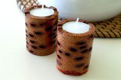 Twin Candle holders!  Banksia pod - Western Australia, Handmade Gift ideas