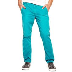 $14, Aquamarine Chinos: Arizona Colored Chinos. Sold by jcpenney. Click for more info: http://lookastic.com/men/shop_items/60647/redirect