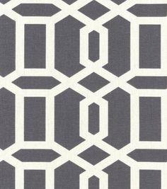 Home Decor Print Fabric- Swavelle Millcreek Bondi Paramount Titanium