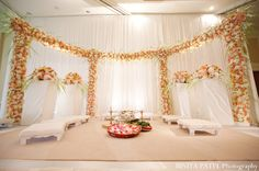 indian wedding ceremony decor http://maharaniweddings.com/gallery/photo/6673