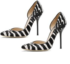 Gucci brings it with animal print for the Daily Heels of the Day!