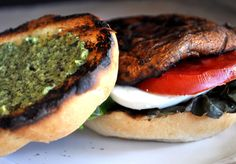 With the 4th of July just a few days away, I'm sure many of you are planning an outdoor menu based around the grill. I know we are! This delicious vegetarian burger is the marriage of two of my favorite summer dishes: the caprese salad and grilled portabello mushrooms. I made this super quick dinner