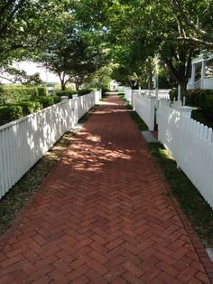 Walkway in Edgartown. Photo Carly Carson