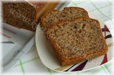 Protein Bread Recipe from Hitch Fit Living Cookbook. Carrot Recipes, Quick Recipes, Bread Recipes, Healthy Recipes, Protein Bread, Light Desserts, Asian Cooking, Sweet Bread, Food And Drink